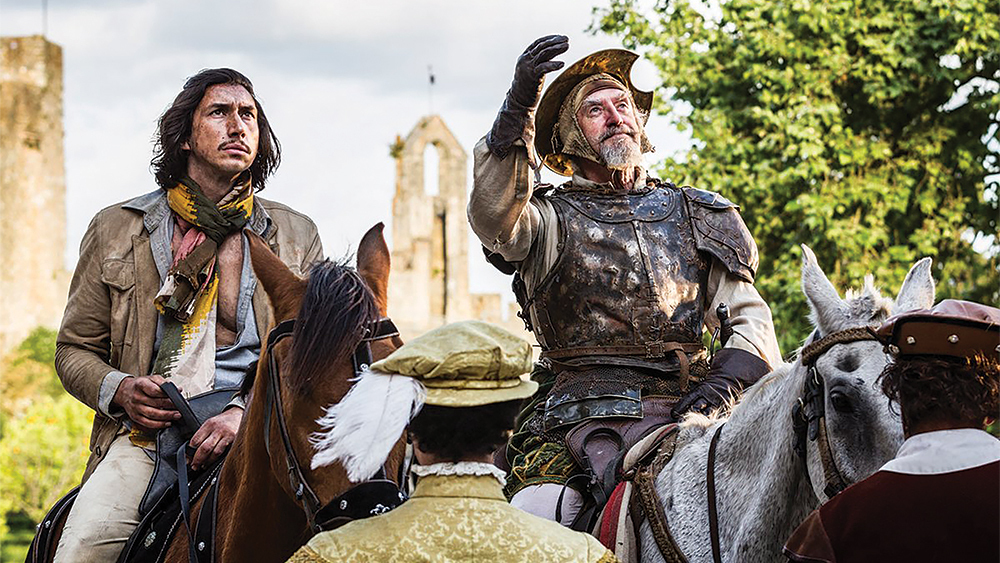 A scene from The Man Who Killed Don Quixote.