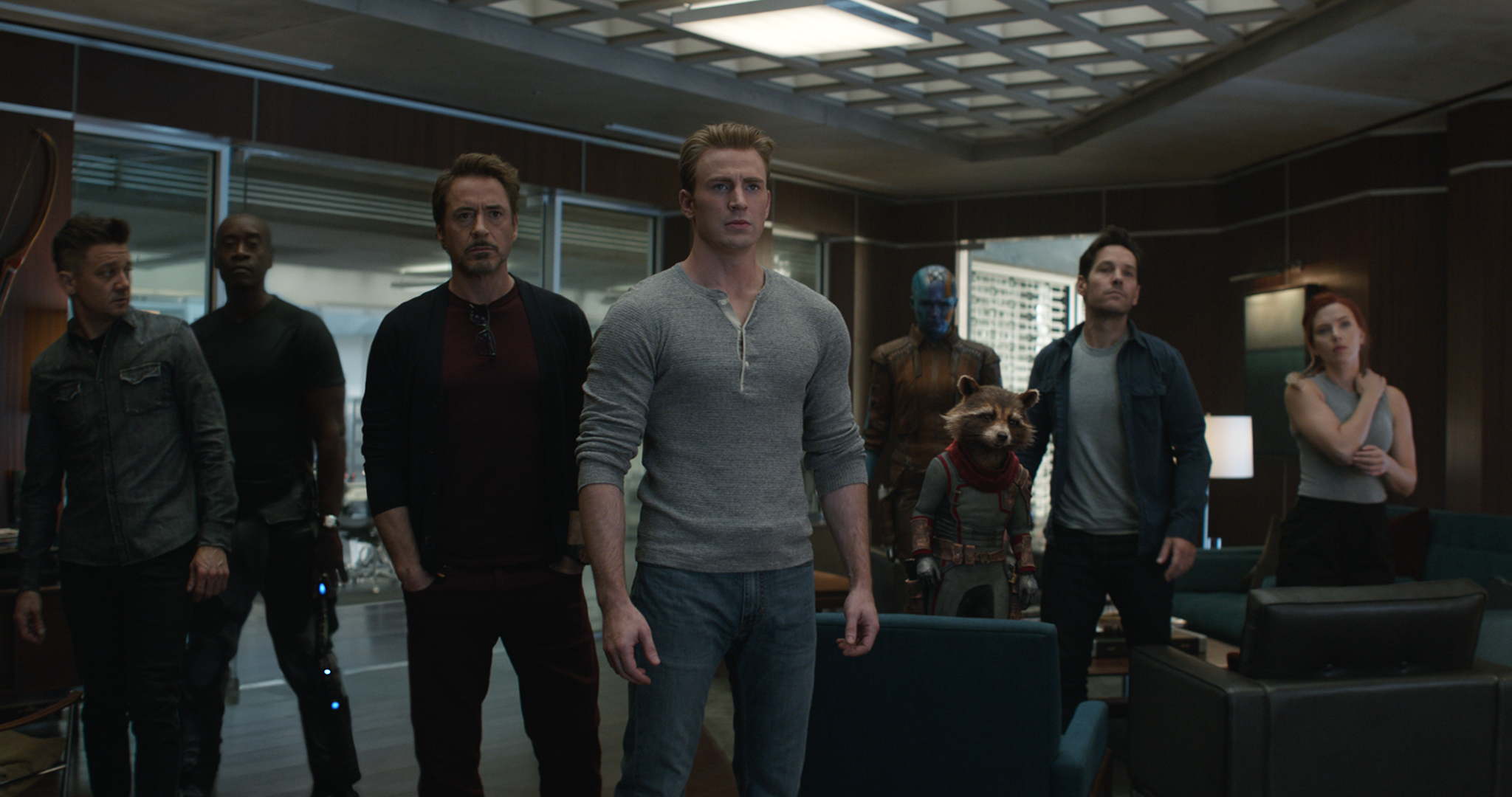 Avengers Reassemble!: What's left of the gang gets back together for round two with Thanos.