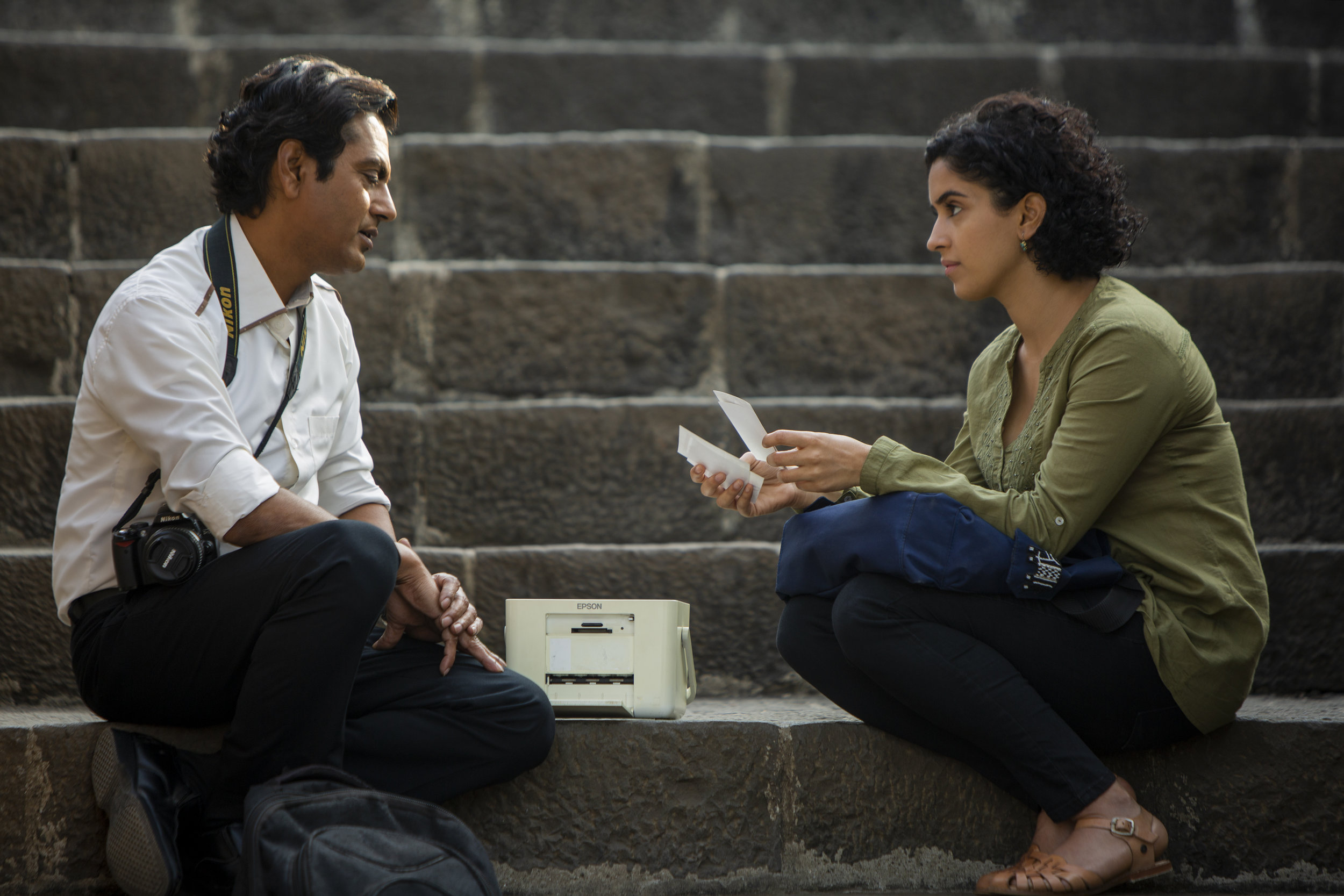 Sparks don't exactly fly between Rafi (Nawazuddin Siddiqui) and his pretend fiancé Miloni (Sanya Malhotra)