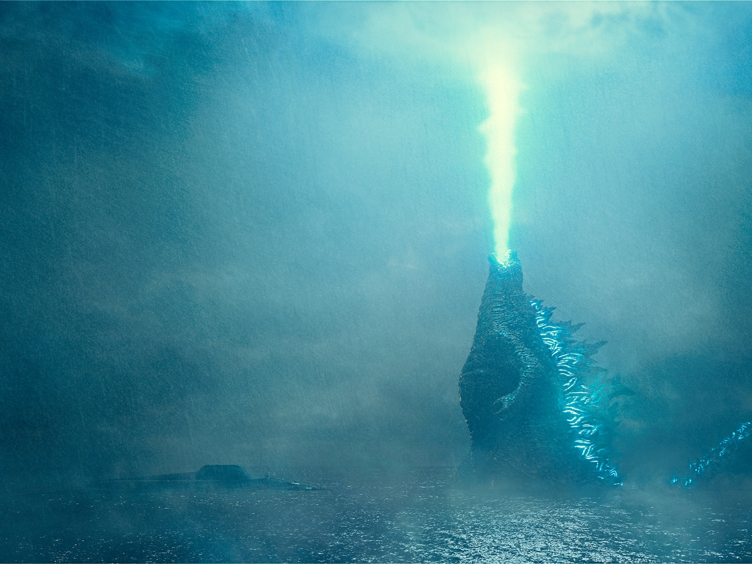Burning it off on the Godzilla diet.