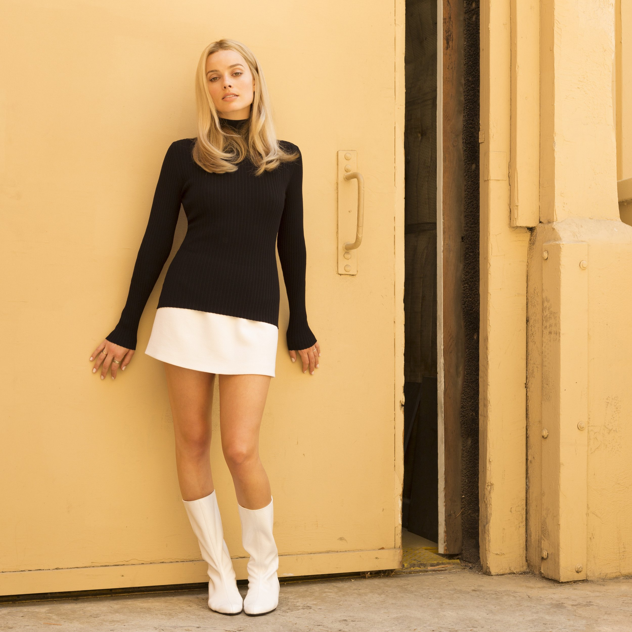 Margot Robbie plays Sharon Tate in Quentin Tarantino's Once Upon A Time… In Hollywood.