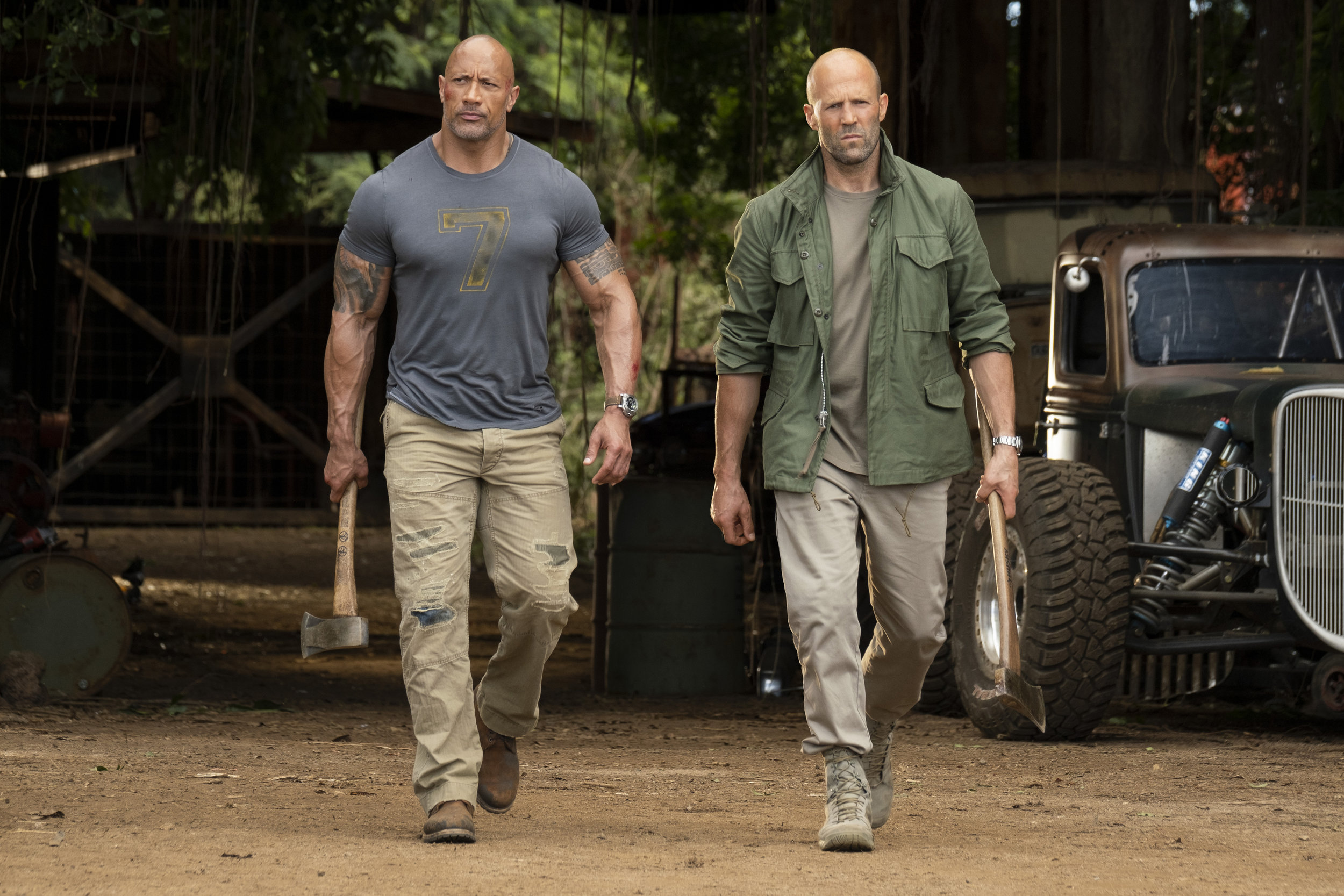 Johnson and Statham: The best of frenemies