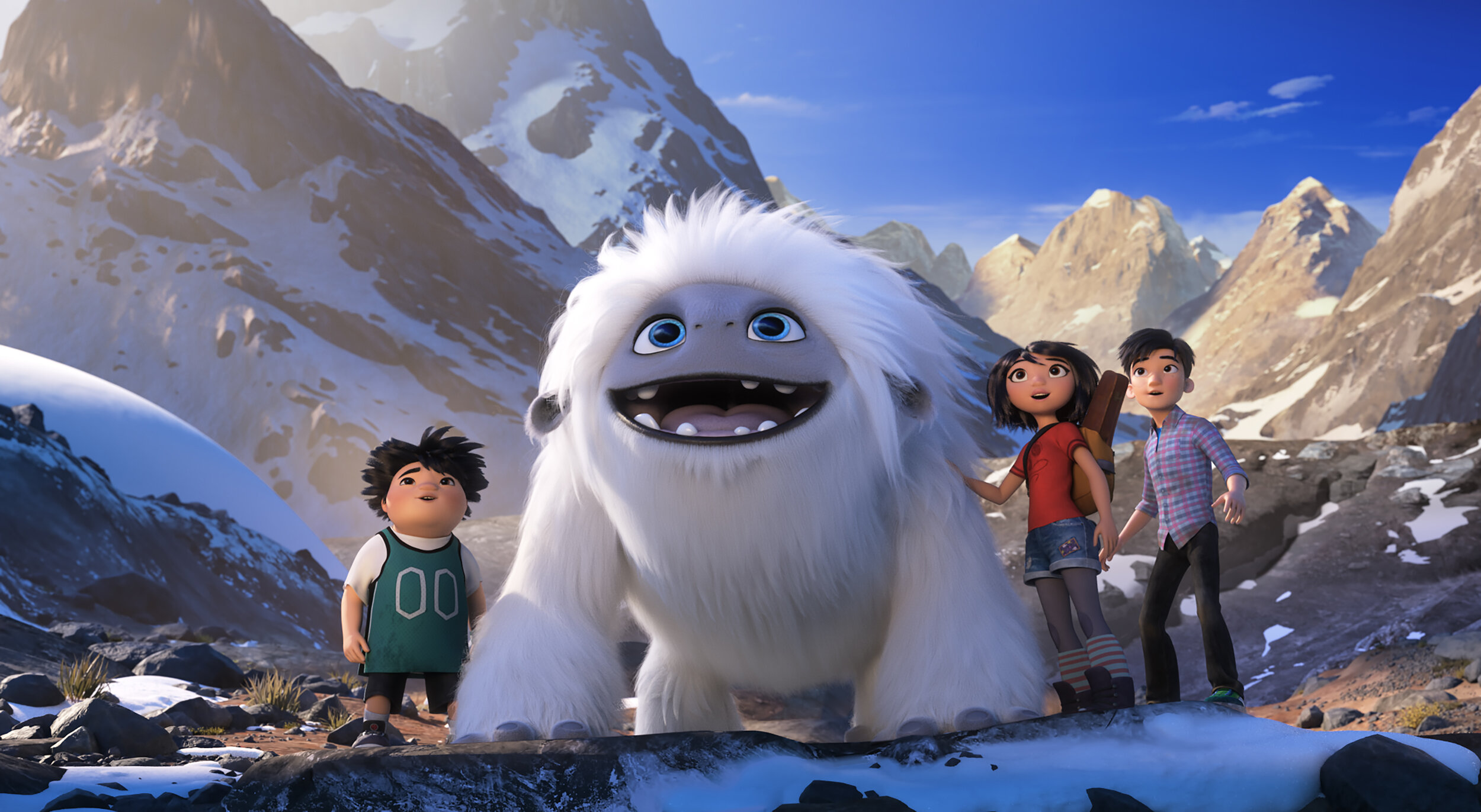 Yi, and her friends Jin and Peng escort their pal Everest back to his Himalayan home in Abominable