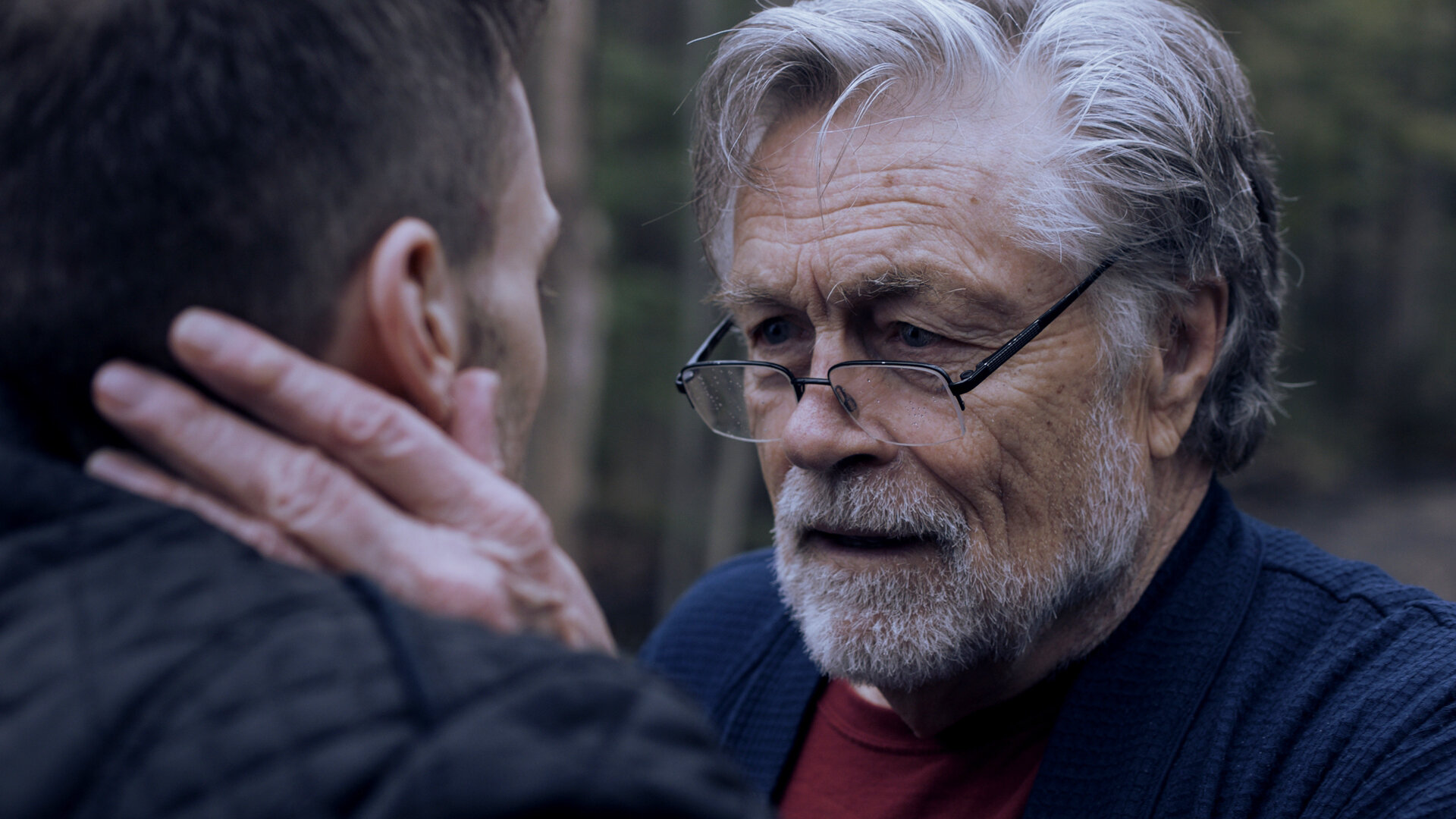 Art Hindle is an ex-convict with dementia, advising his son (Jeremy Ferdman) on the finer points of criminality.
