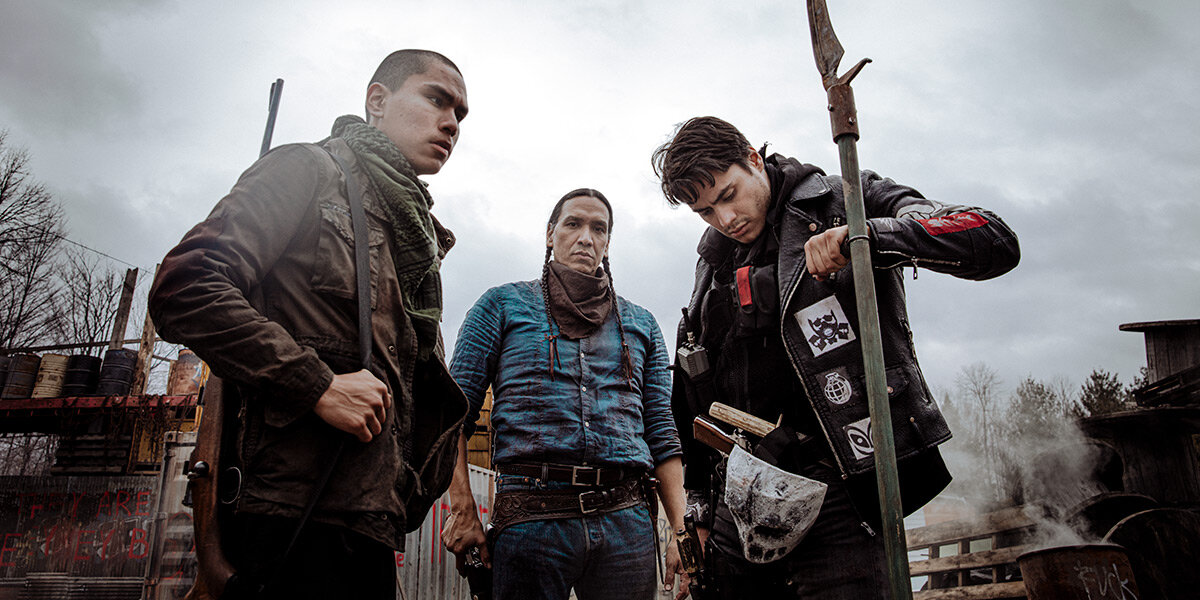 Indigenous survivors of a zombie apocalypse cope with the world and each other in Blood Quantum