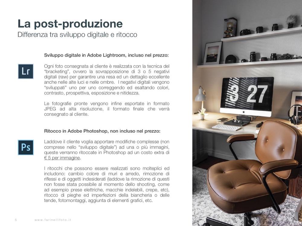 fotografo interni a roma - guida per il cliente