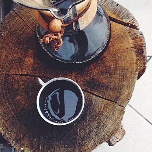 For the coffee lover:  Try the Chemex Pour Over Coffee Maker - you will not regret it. After trying many different ways of getting coffee at home to save a couple (or a lot of) bucks at major coffee shops every day, we stumbled upon this gem. Simple IS better in this case.   //source