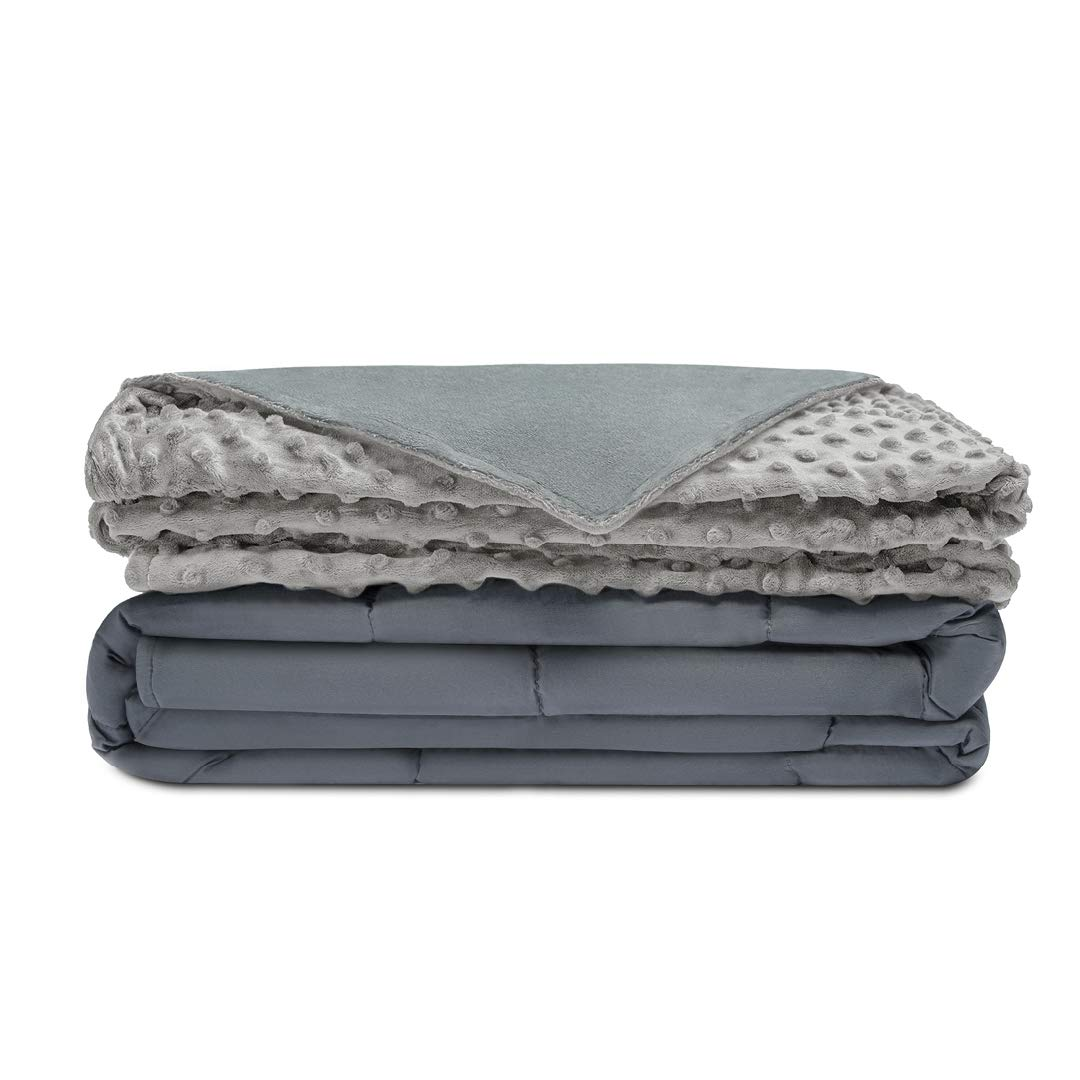 For the working bee:  We are all busy. So, stress is a common thing. There's a new trend on the market, that has personally helped our sleep so much. Weighted blankets! They can be a bit pricy, but can you put a price on good sleep?   //source