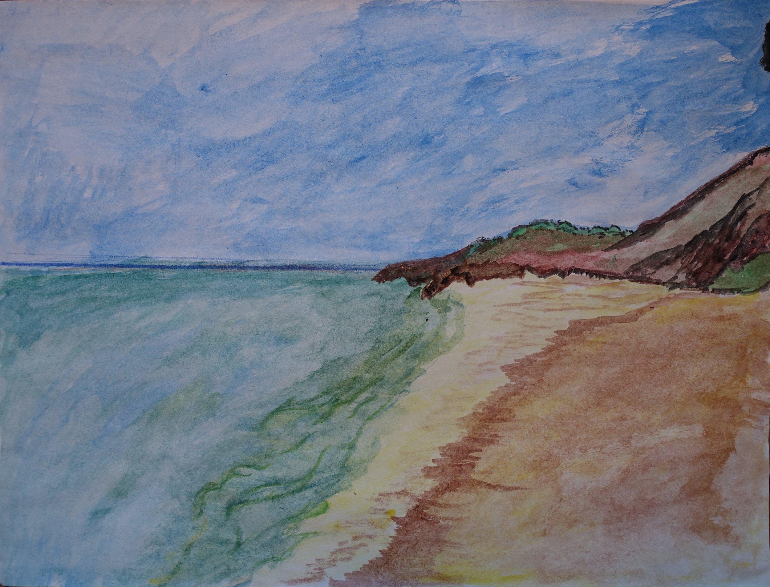 Ammar Al-Baluchi, Seashore.