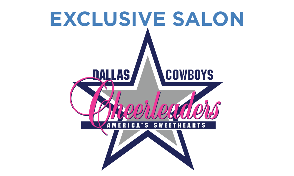Tangerine Salon is the Trusted Salon of the Dallas Cowboys Cheerleaders