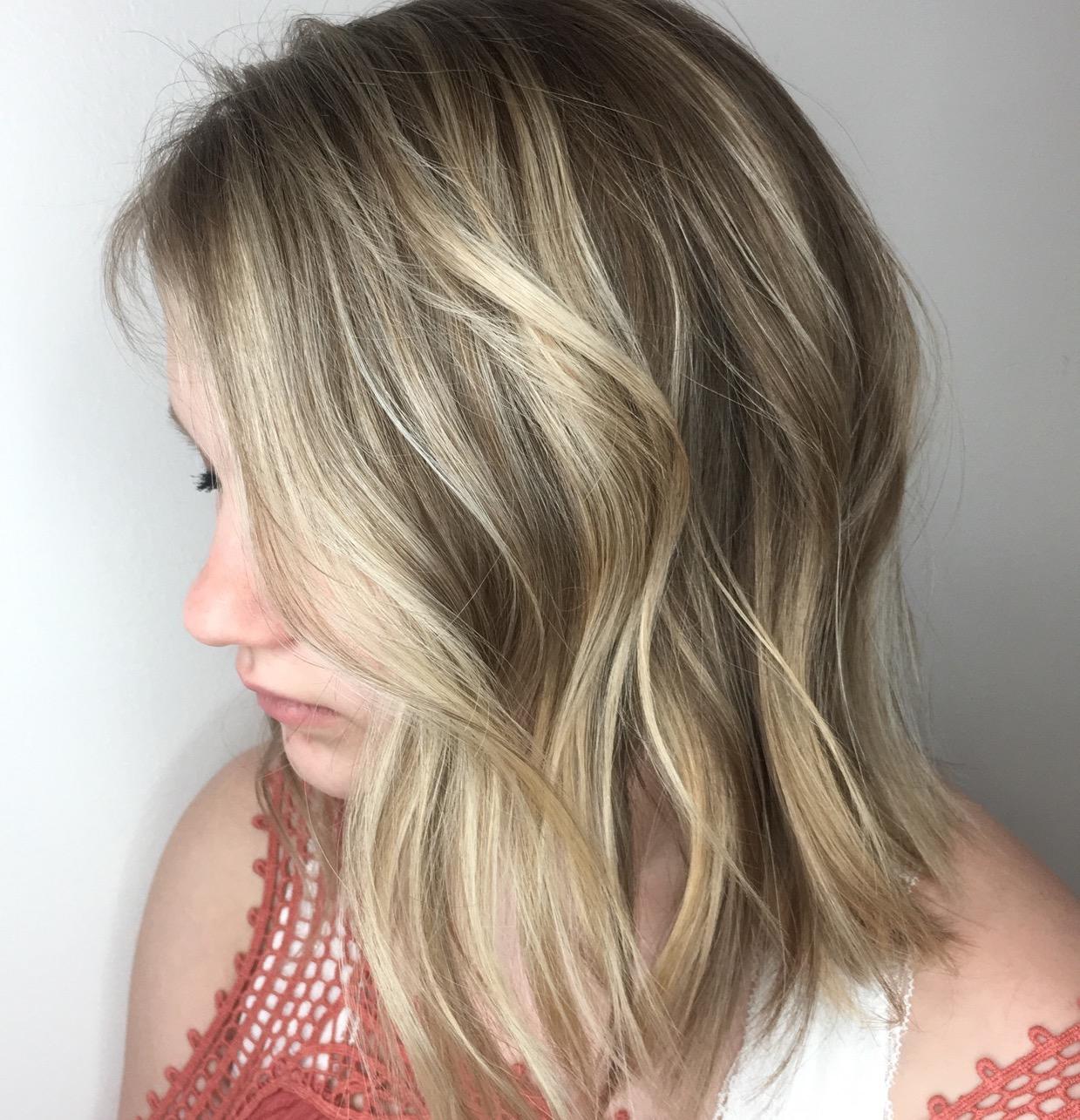 Jill Ottinger Highland Village Hairstylist Balayage