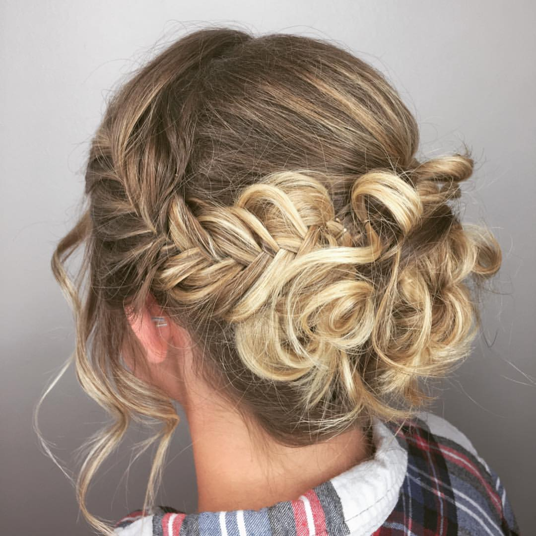 Jill Ottinger Highland Village Hairstylist Bridal Prom Updo