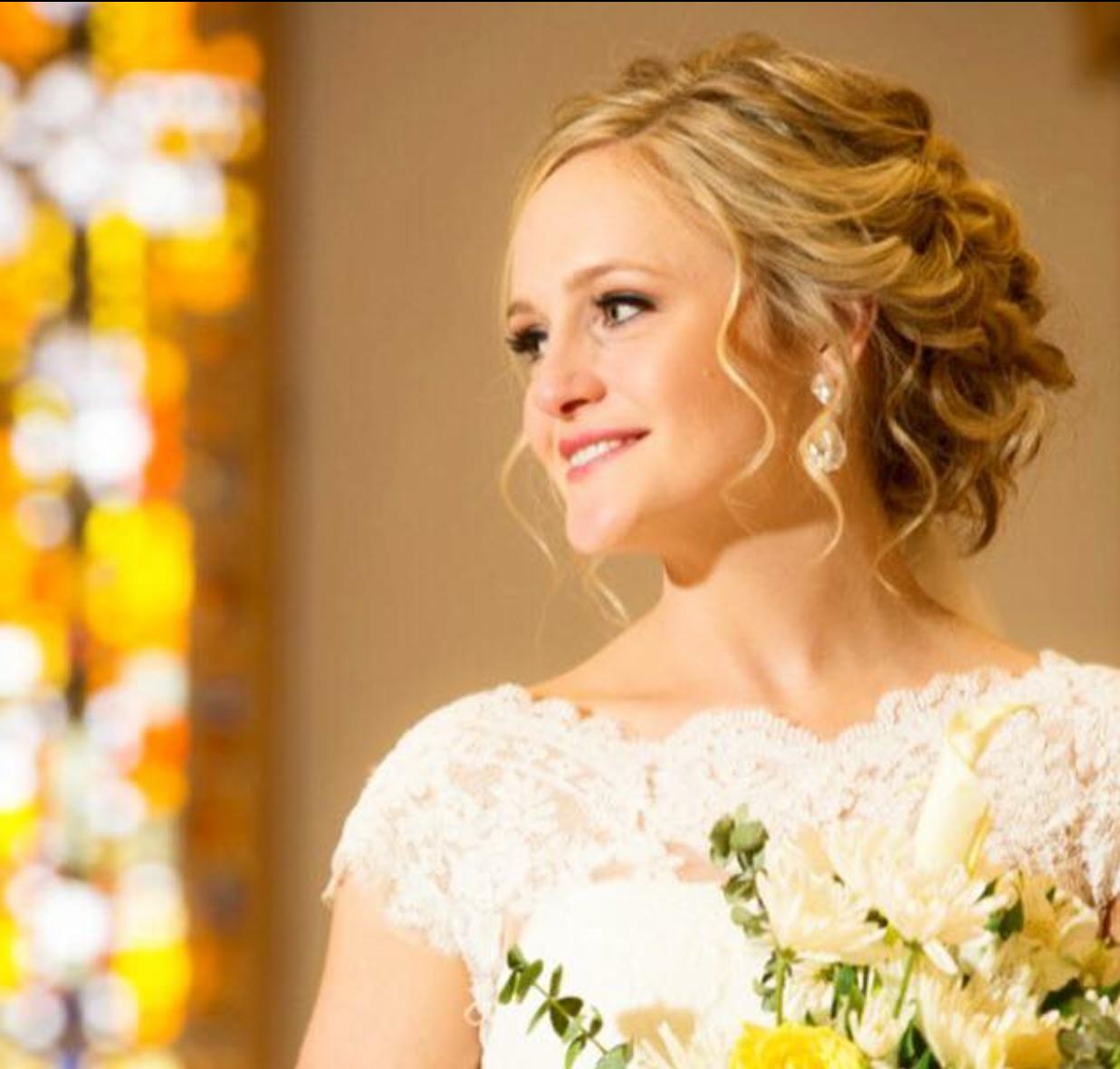 Jill Ottinger Highland Village Hairstylist Bridal Updo