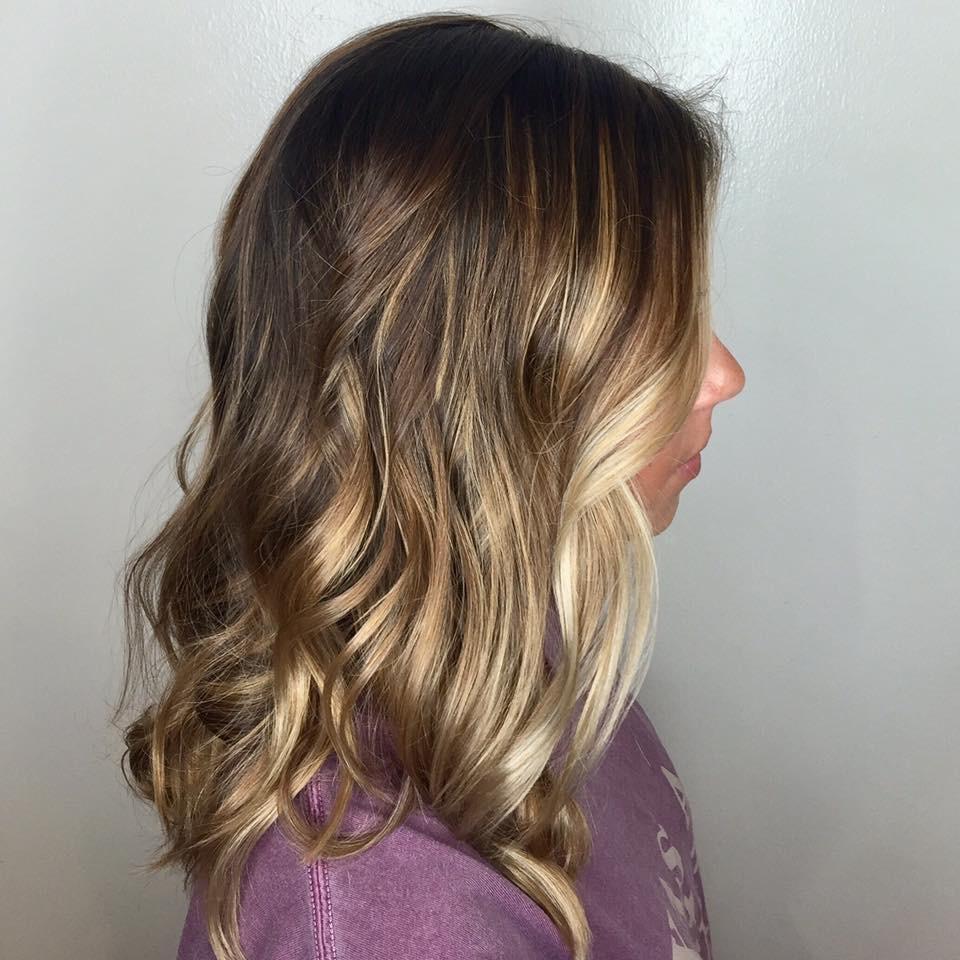 Amanda Collier Allen Hairstylist Brunette Balayage