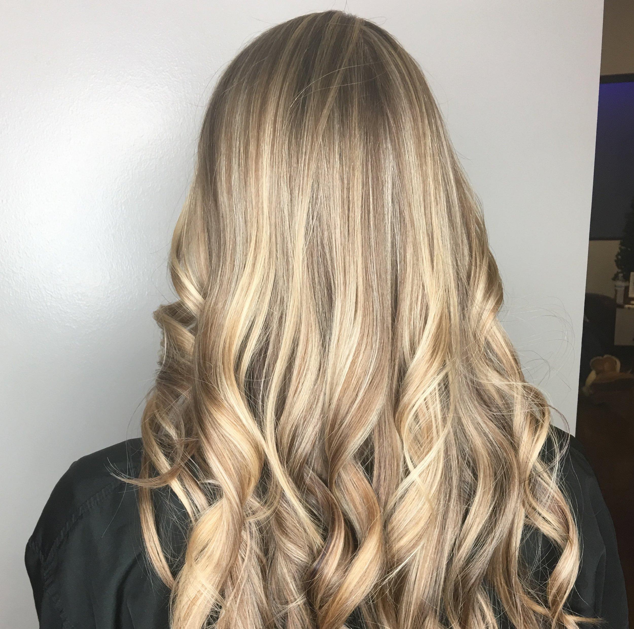 Erin Crawford Allen Stylist Blonde Highlights