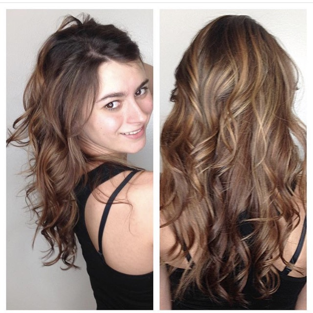 Noel Gawrysiak Allen Stylist Red Balayage
