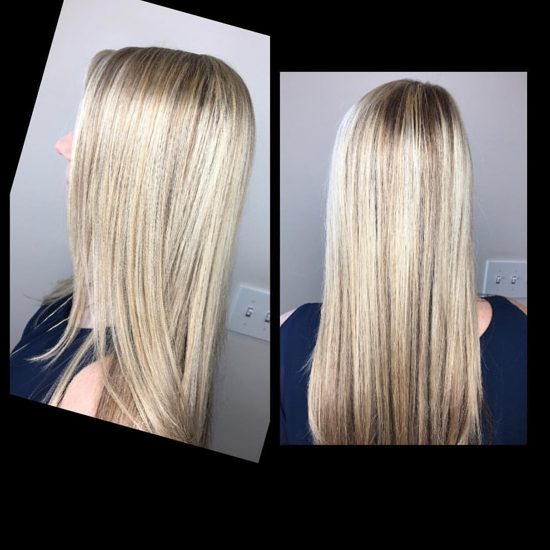 Ashley York Dallas Hairstylist Blonde Highlights