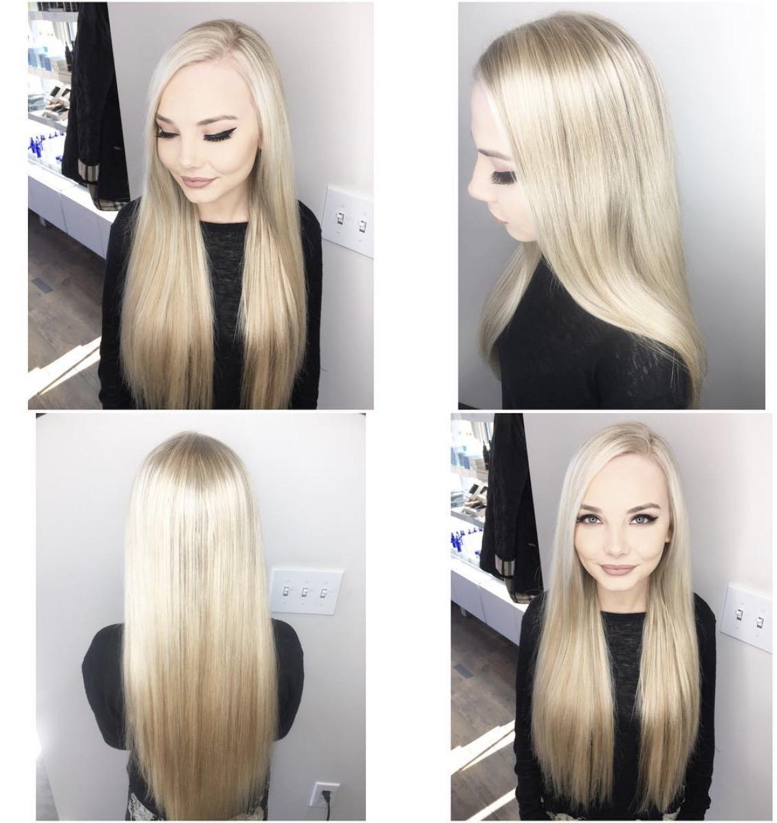 Ashley York Dallas Hairstylist Blonde