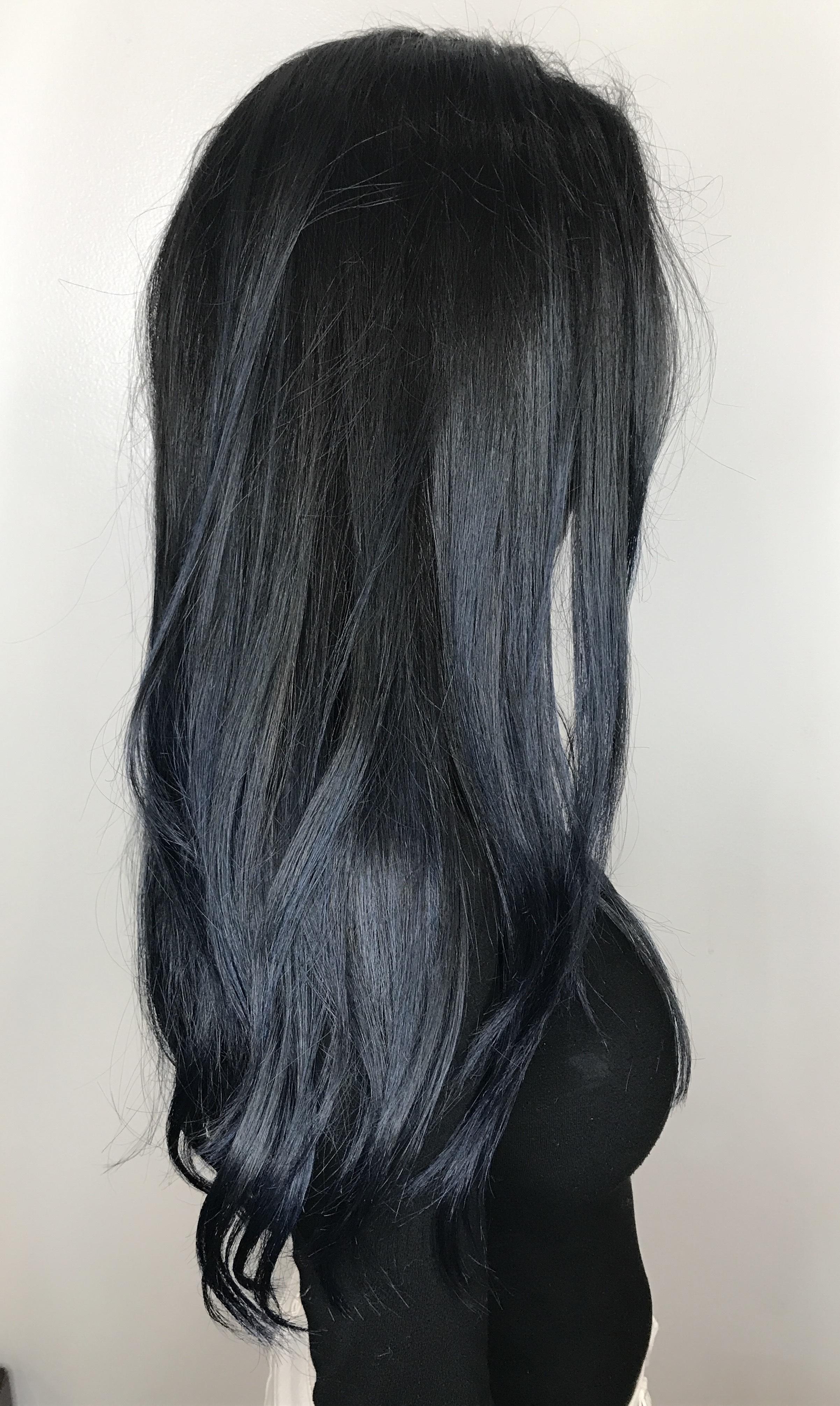Kari Wawrzonek Frisco Hairstylist Black Hair Color