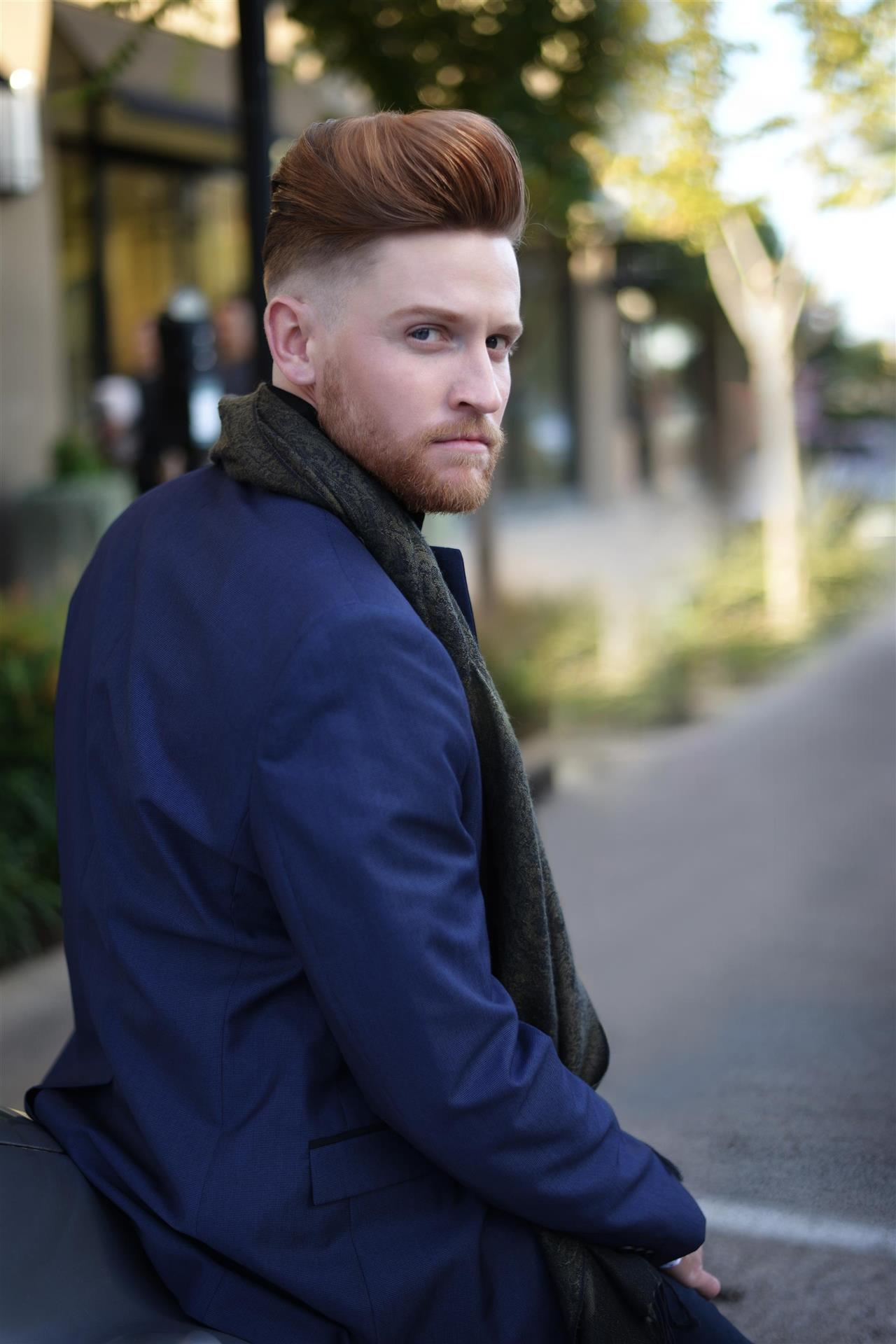 Kari Wawrzonek Frisco Hairstylist Mens Cut Fade