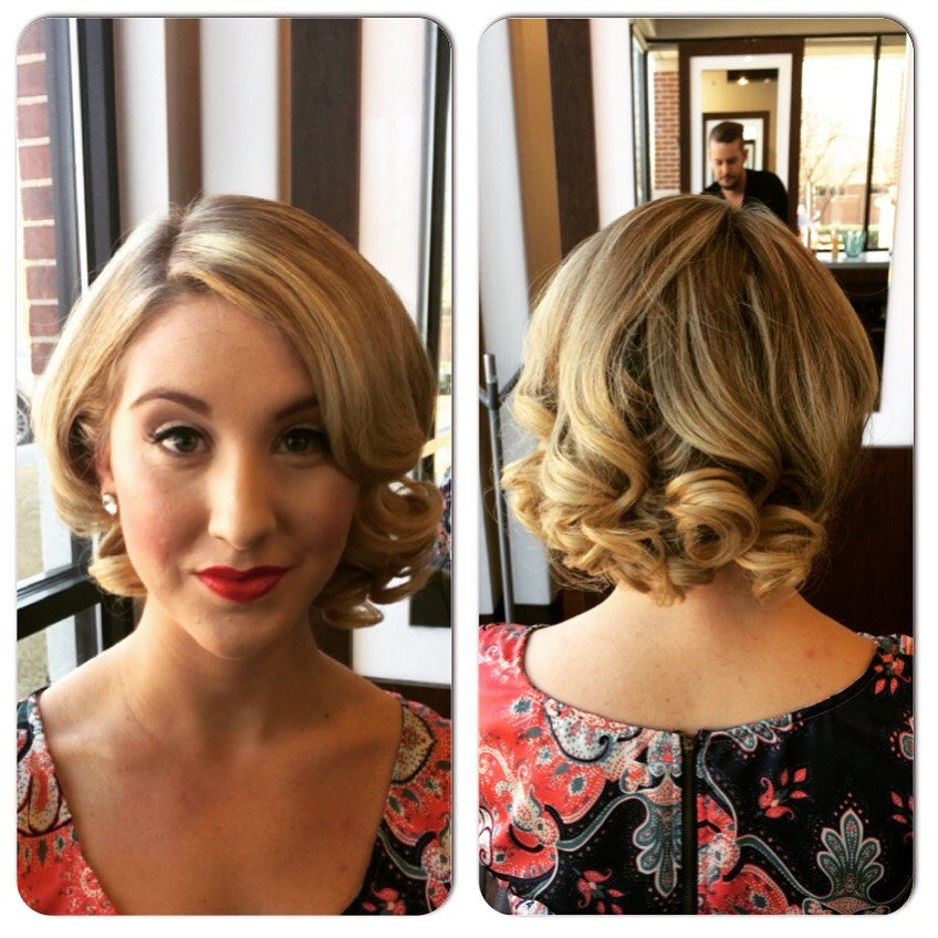 Kevin Walsh Dallas Texas Hairstylist Bridal Prom Updo