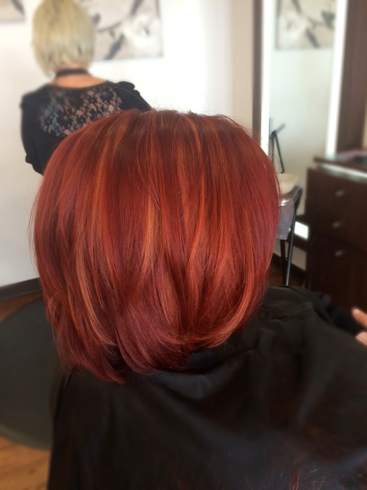 Kevin Walsh Dallas Texas Hairstylist Red Pixie