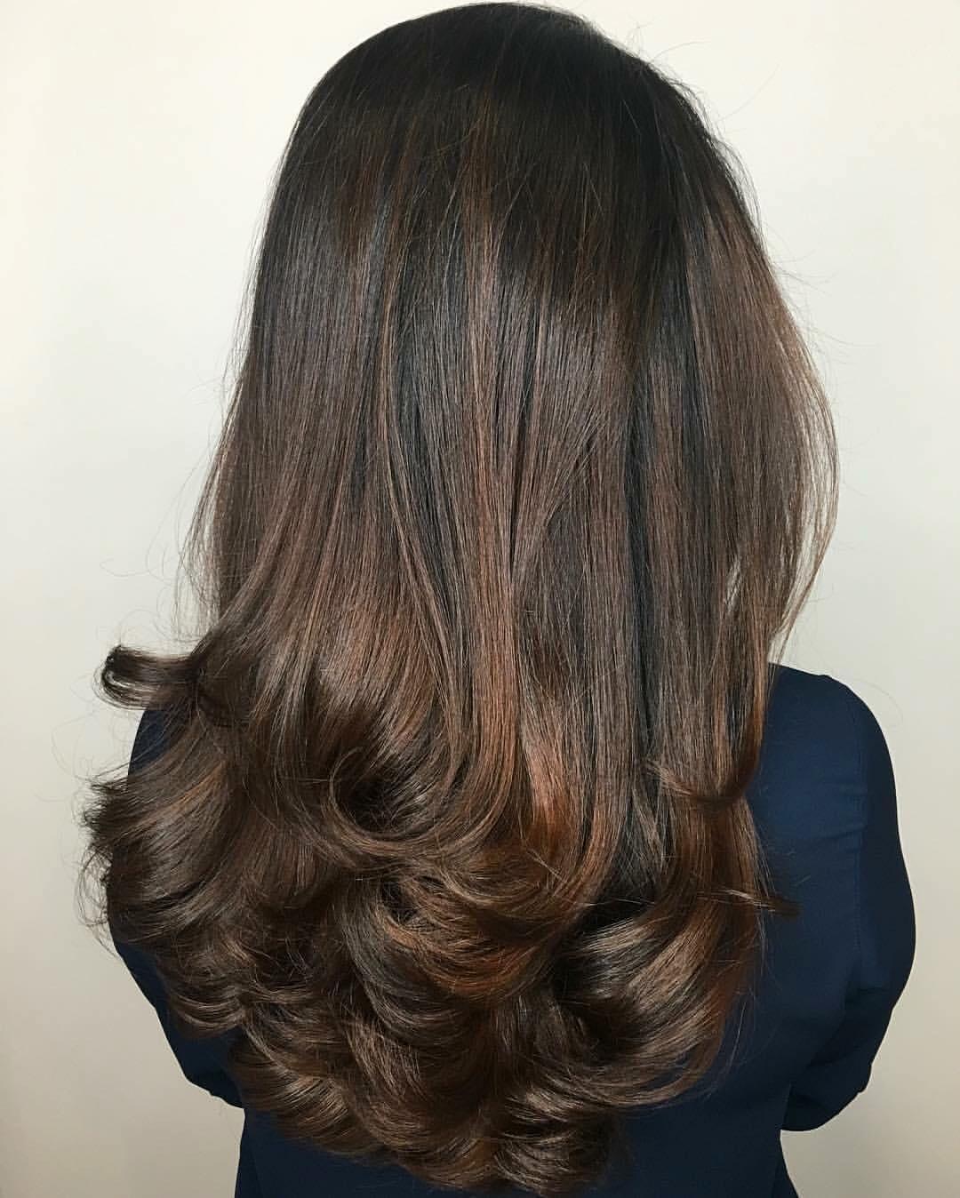 Kristina Fierro Coppell Hairstylist Caramel Brunette