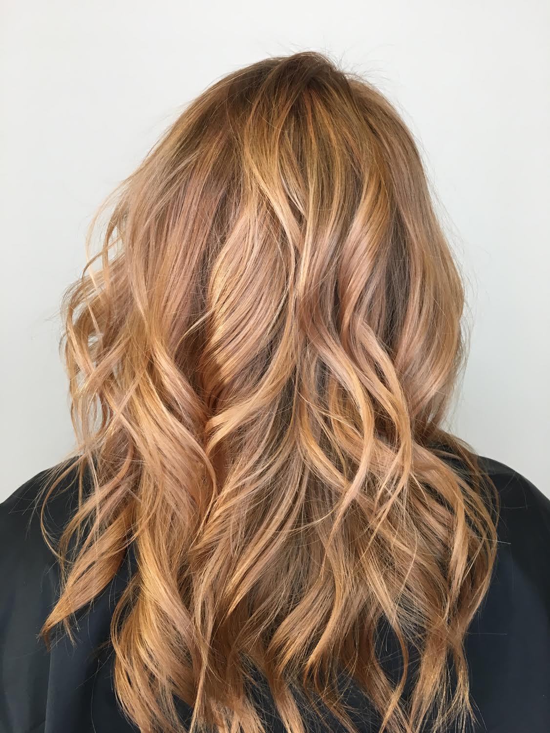 Kristina Fierro Coppell Hairstylist Golden Blonde