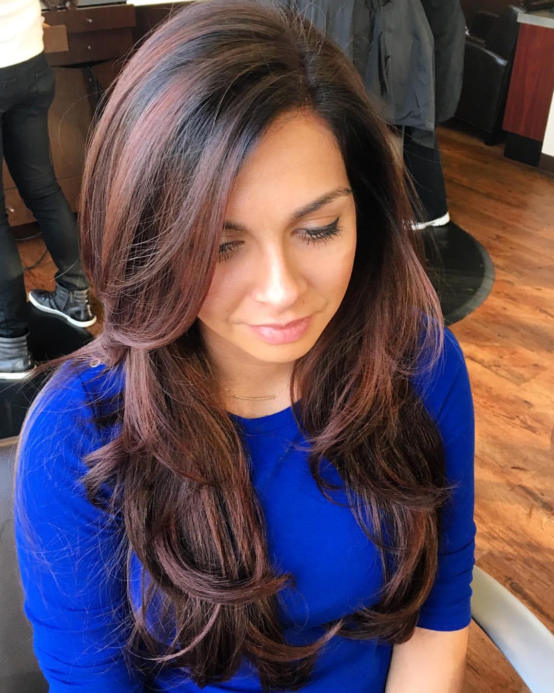 Blue Gilmore Frisco Hairstylist Brunette