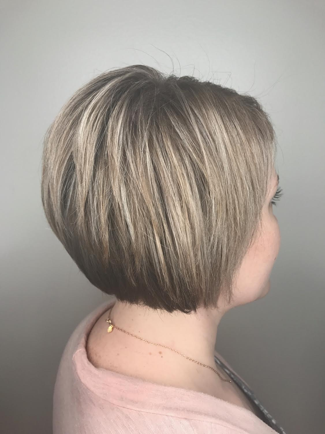 Grace  Smith Highland Village Hairstylist Highlights Bob