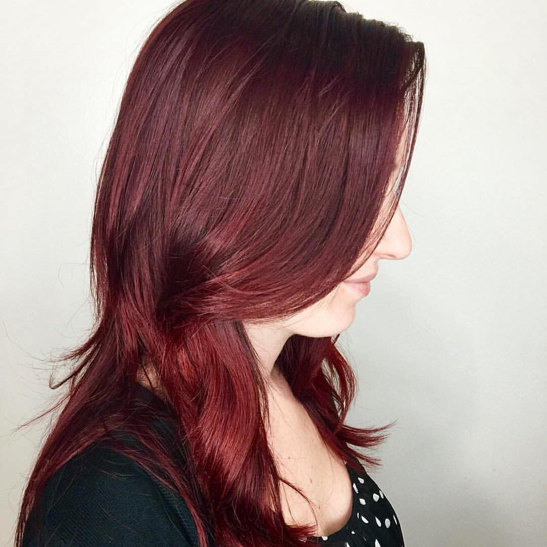 Amanda Collier Allen Hairstylist Red Vivid