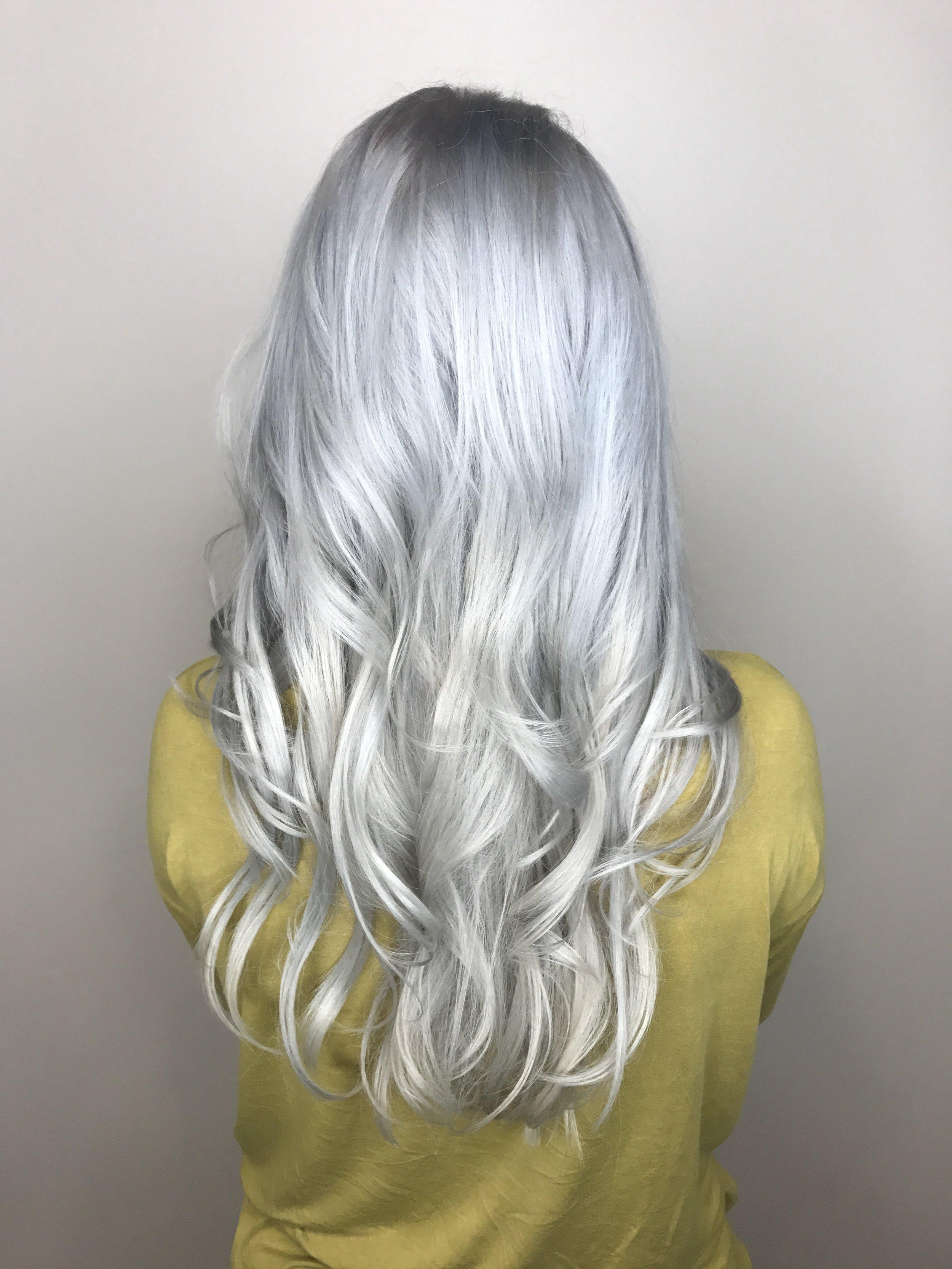 Blue Gilmore Frisco Hairstylist Platinum Blonde