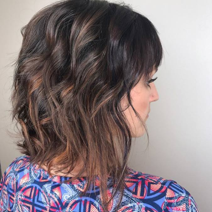Nicki Gazlay Highland Village Stylist Balayage Bob