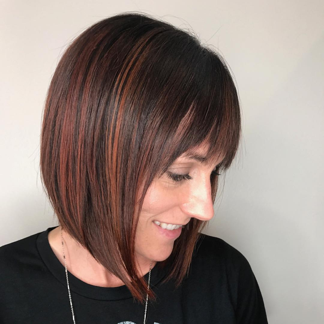 Nicki Gazlay Highland Village Stylist Red Bob