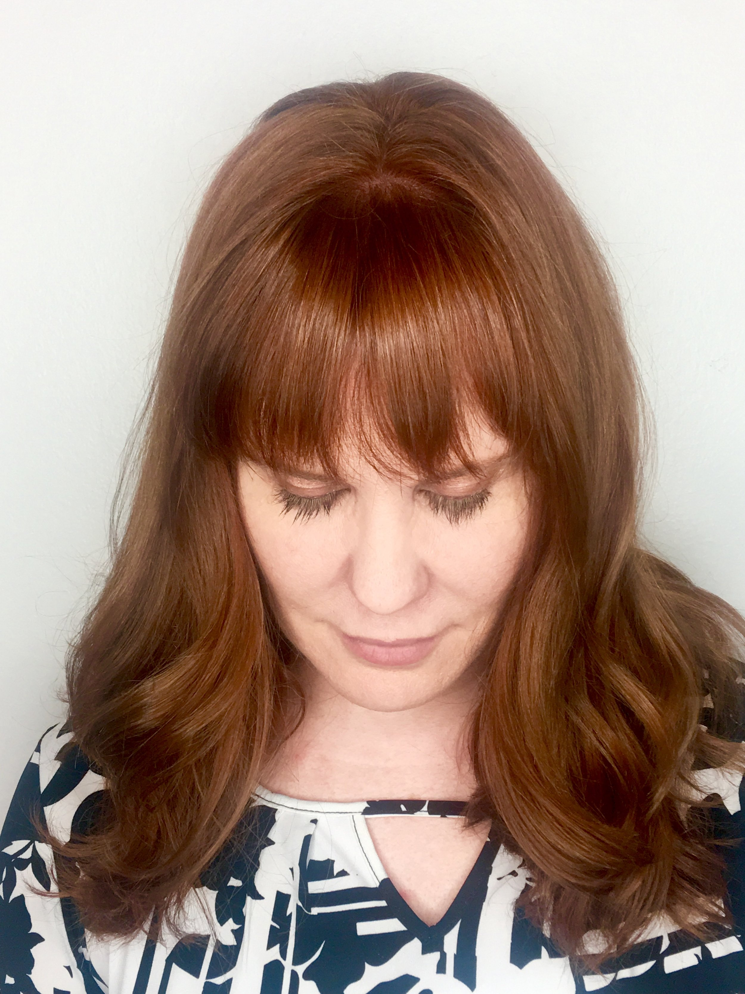 Christina Childress Highland Village Hairstylist Red Hair Color