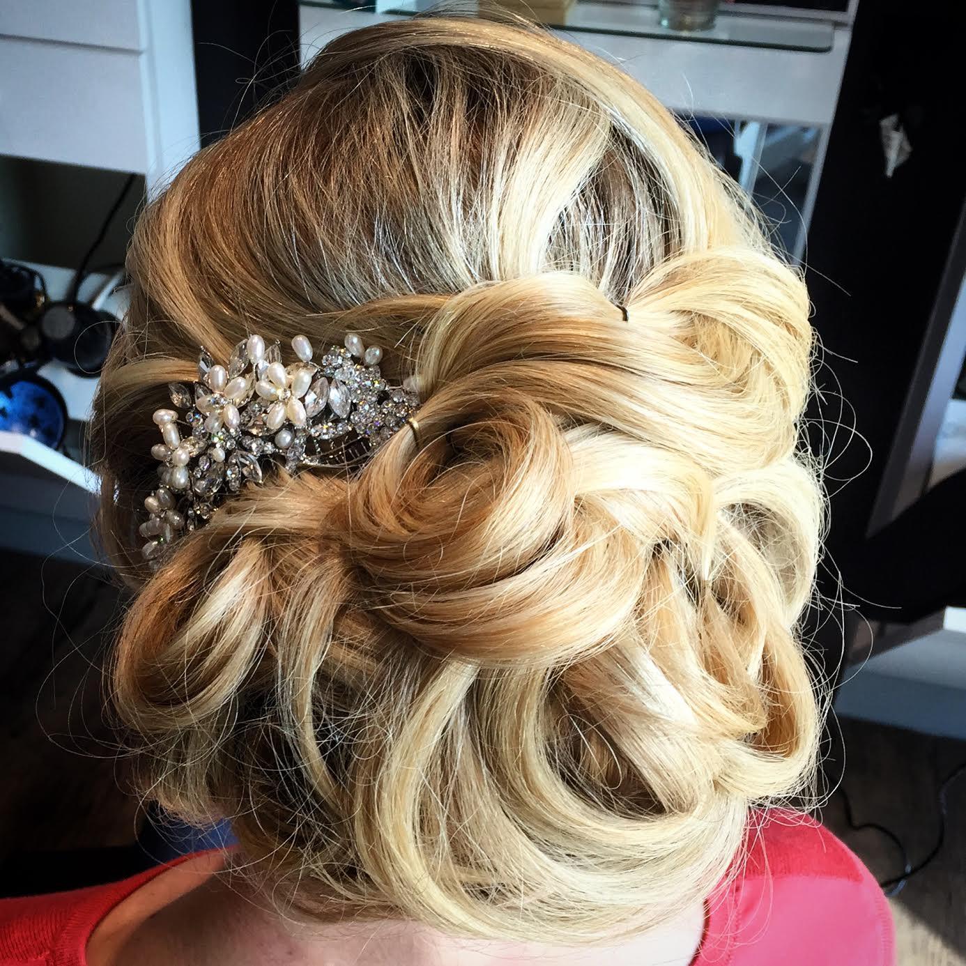 Kevin Walsh Dallas Texas Hairstylist Bridal Updo