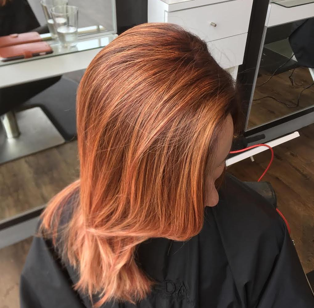 Kevin Walsh Dallas Texas Hairstylist Red Hair Color