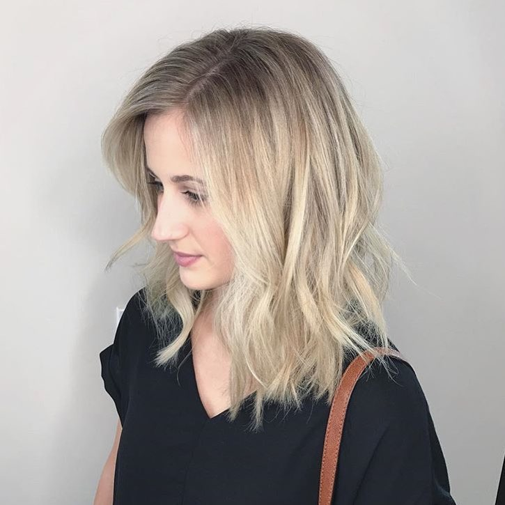 Madelyn Lindley Dallas Hairstylist Blonde Lob