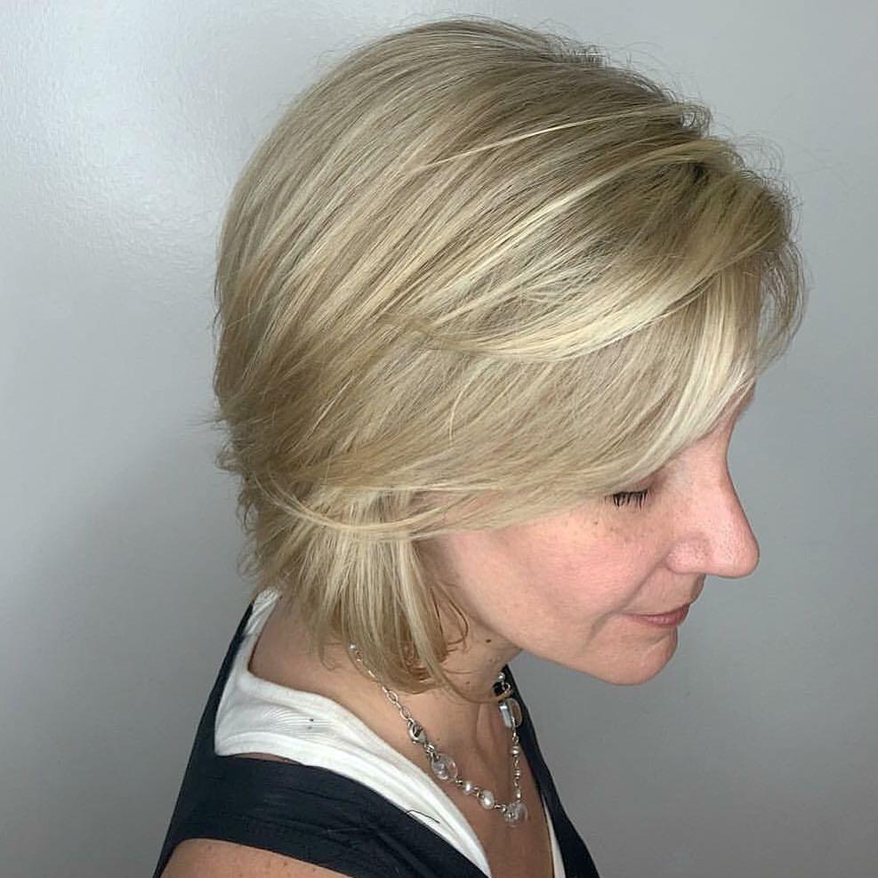 Amanda Collier Allen Hairstylist Blonde Bob