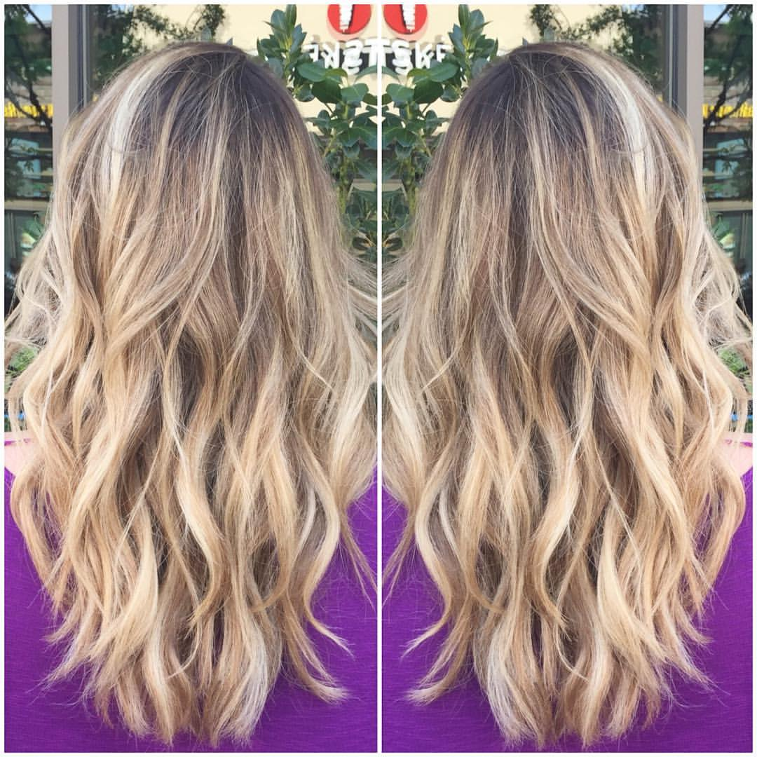 Bailey Hodge Dallas Hairstylist Blonde Balayge