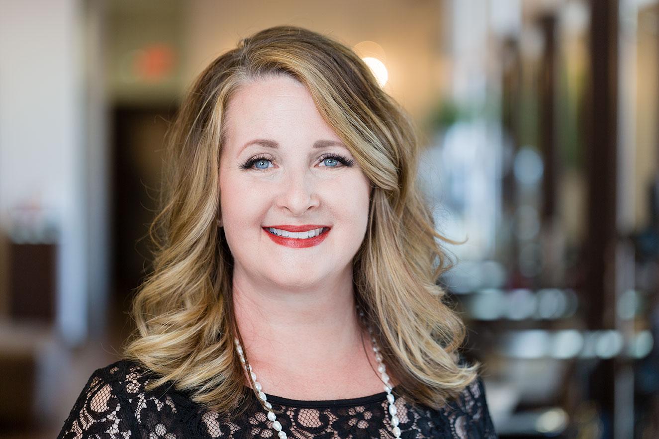 <p><strong>Melissa Audas</strong>Highland Village Salon Director