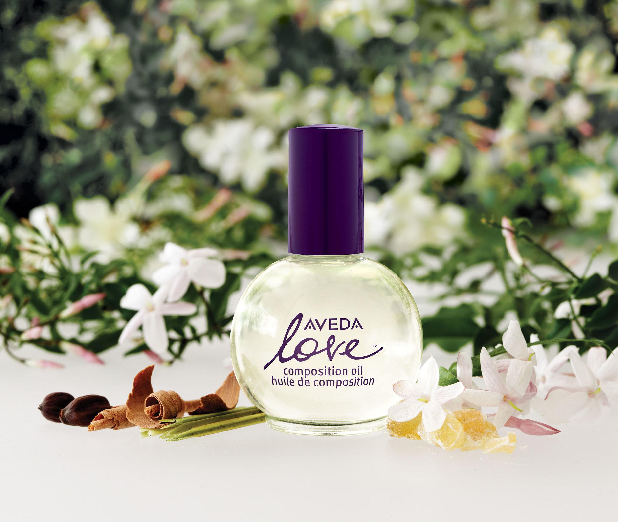 aveda love composition oil