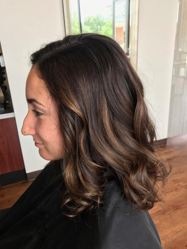 Paula Pederson Coppell Hairstylist Caramel Balayage