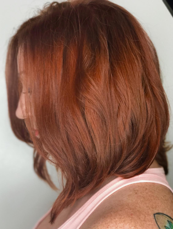 Kari Wawrzonek Frisco Hairstylist Red Hair