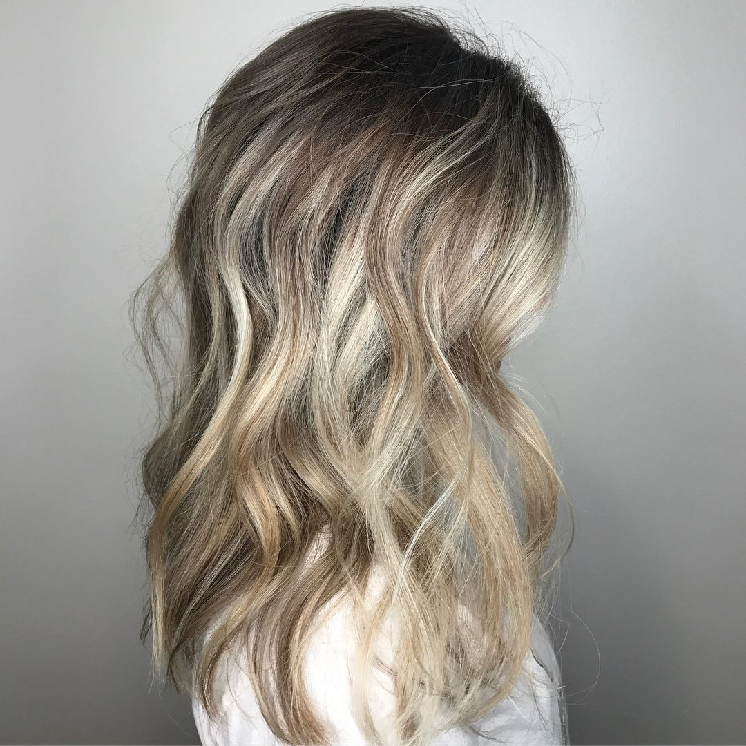 Blonde Dimensional Highlights Coppell TX Hair Salon Balayage