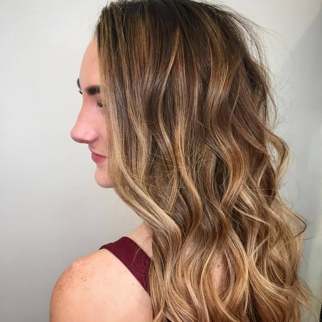 Almond Hair Color - Dallas Hair SalonCourtney Winnan Highland Village Stylist Balayage