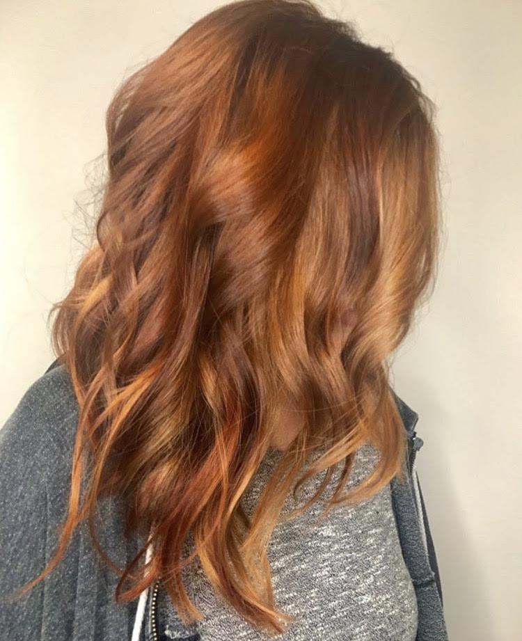 Kari Wawrzonek Frisco Hairstylist Red Hair Color