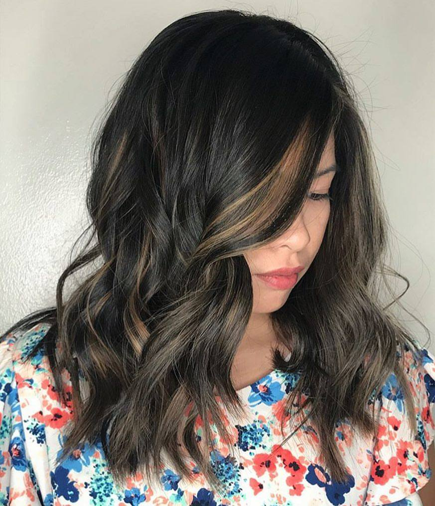 Kari Wawrzonek Frisco Hairstylist Brunette Highlights
