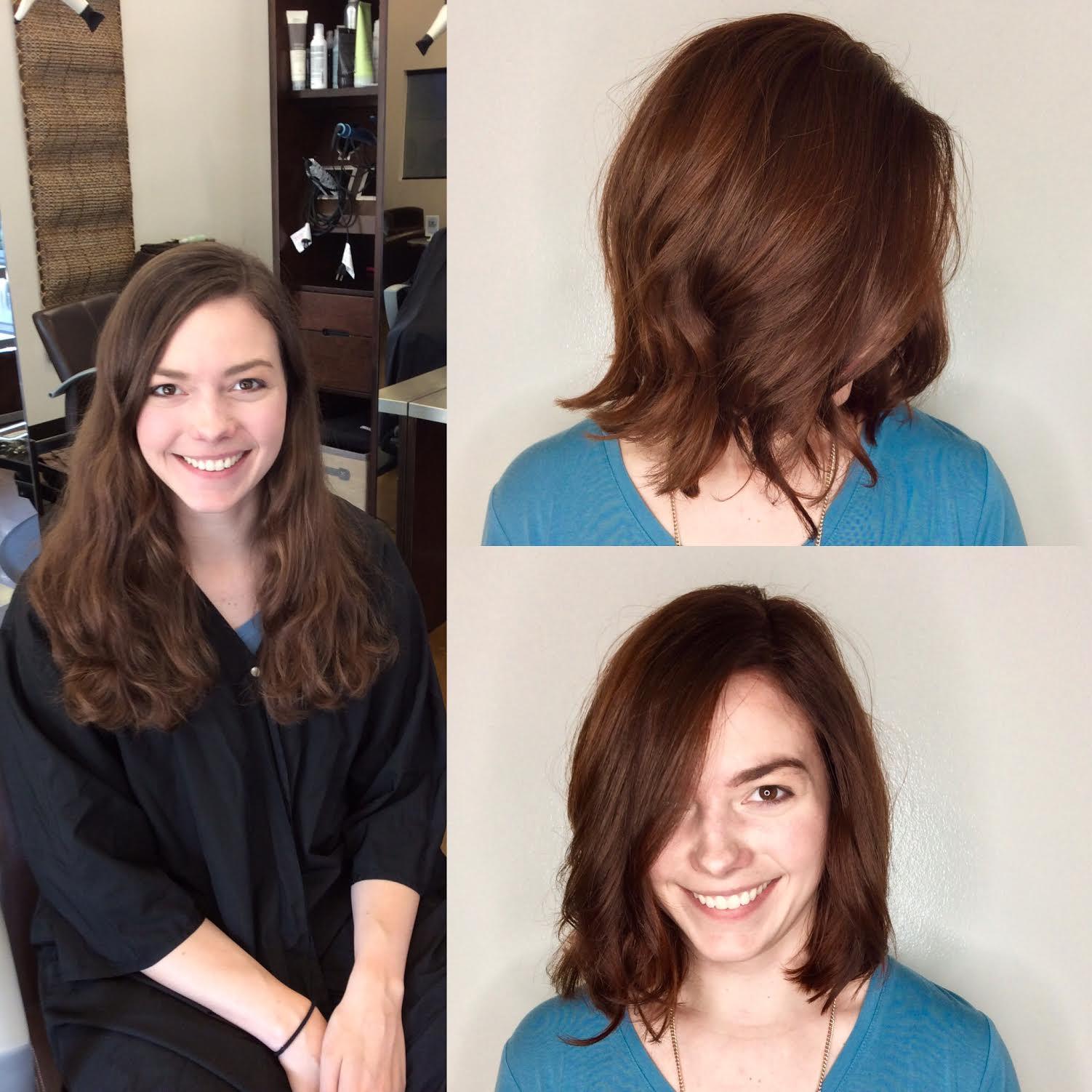 Kari Wawrzonek Frisco Hairstylist Transformation Haircut