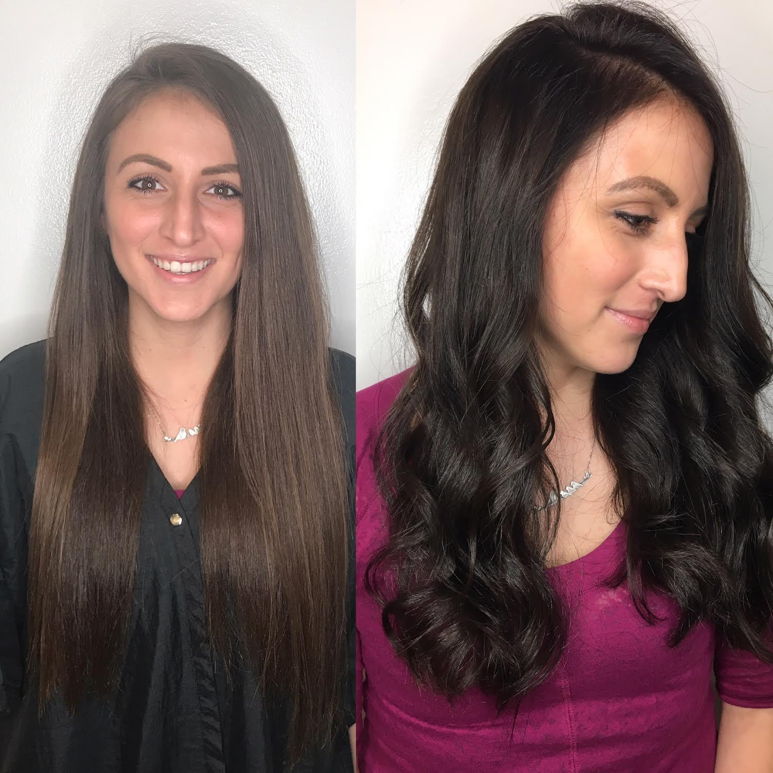 Kari Wawrzonek Frisco Hairstylist Brunette Transformation